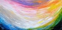 """""""PRAISE"""", 24"""" x 36"""" acrylic on canvas"""